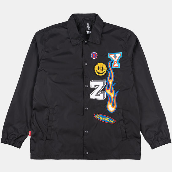 Ветровка ZIQ&YONI Patches SS18 Чёрный