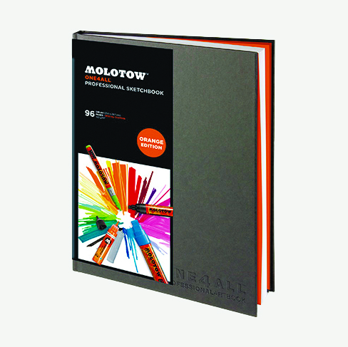 Альбом Molotow  One4All Artbook A4 верт 96 стр 150 гр