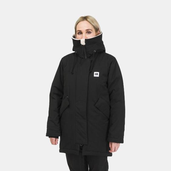Куртка Codered женская Heat 3 Чёрный – купить в интернет-магазине с ... 5f9c6de34c1